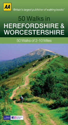 50 Walks in Herefordshire & Worcestershire: 50 Walks of 2–10 Miles
