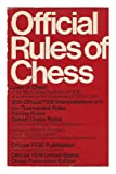 Official Rules of Chess, U. S. Chess Federation Staff, 0679130411