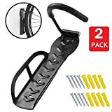 HOMEE Heavy Duty Bicycle Bike Wall Hook Mount Rack Holder Hanger Stand Bike Storage System for Garage/Shed with Screw 2 PACK Review