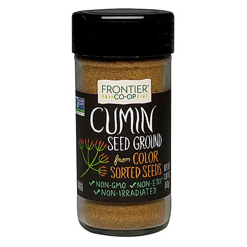 Frontier Natural Products Cumin Seed Ground -- 1.6 oz - 2PC