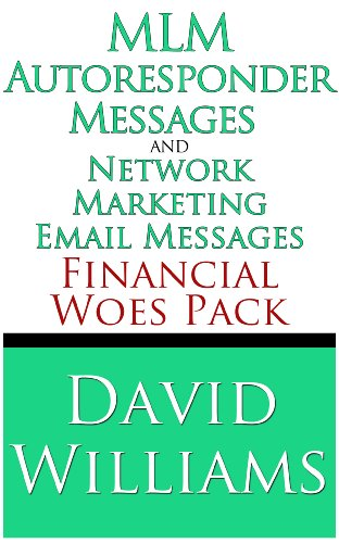 Amazon mlm autoresponder messages and network marketing email mlm autoresponder messages and network marketing email messages financial woes pack by williams fandeluxe Images