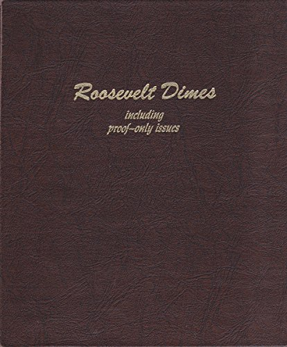 Dimes Dansco Coin Album (1946-DATE 17.9mm 3 pages 126 Dimes DANSCO No 8125 ALBUM BINDER BOOK FOLDER)