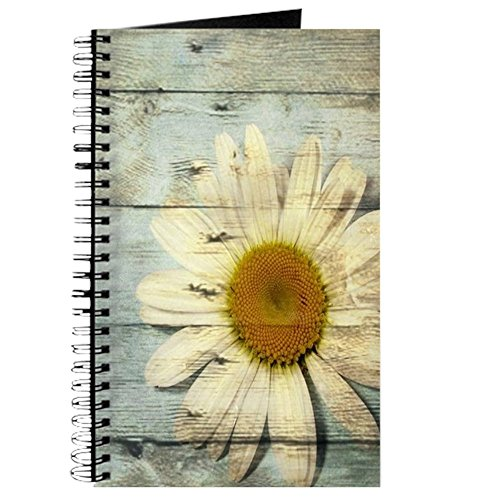 hic Country Daisy - Spiral Bound Journal Notebook, Personal Diary, Blank (Shabby Chic Journal)
