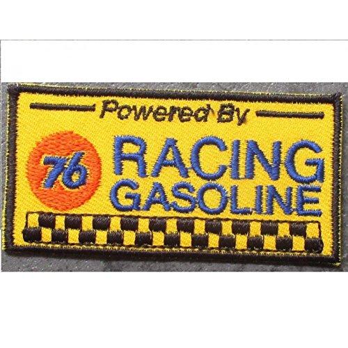 hotrodspirit - Patch 76 Oil Racing Team rectangulaire ecusson thermocollant