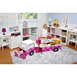 All In Fun 5-Piece Vehicle Play Center, Pink