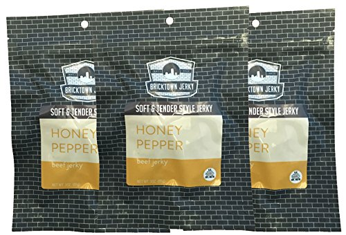 Dryer Infused (Honey Pepper Soft and Tender Style Best Beef Jerky (BEST SELLER) - 3 PACK - Try Our Best Tasting Soft Beef Jerky - 9 total oz.)