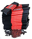 Lot 25 FSA CN-906 9 Speed Road MTB Bike Chains 116L + ML Retailer Pack NEW