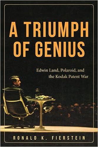 Amazon com: A Triumph of Genius: Edwin Land, Polaroid, and the Kodak