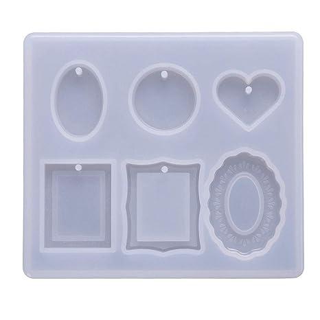 Teabelle - Molde de Silicona para Manualidades, Marco de decoración y moldes para moldear a