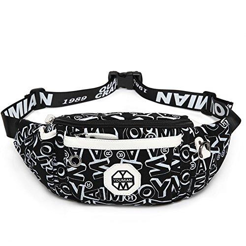 bolsa de lona / hombro bolsa de mensajero en el pecho / de movimiento del monedero del bolso-4 1