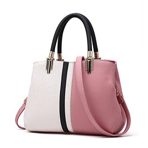 Bolsa Bolso Moda Dama Nueva GWQGZ Solo Spanning Violeta La Moda Sesgar Hombro De Pink Impacto wxqv4p