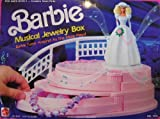 Barbie MUSICAL JEWELRY BOX - BARBIE Turns As MUSIC Plays! (1990 Arco Toys, Mattel)