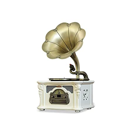 Gramófono, Tocadiscos Reproductor De Discos De Vinilo Retro ...
