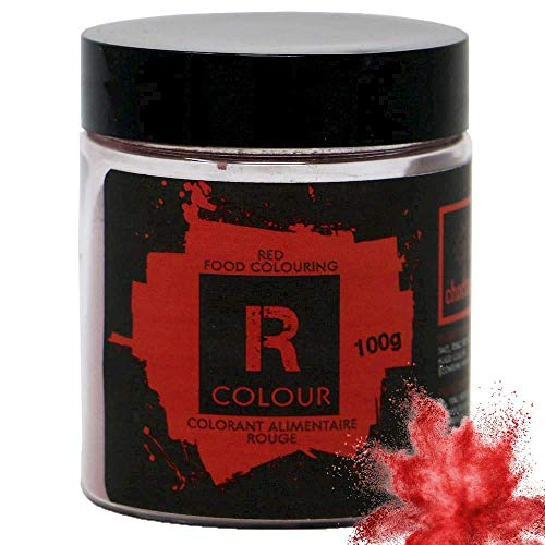 (Choctura Red Food Coloring for Baking and Cooking, 100g (3.5oz) | Use to Decorate Easter Eggs, or to Give Pastries a Valentine's or Christmas Feel)