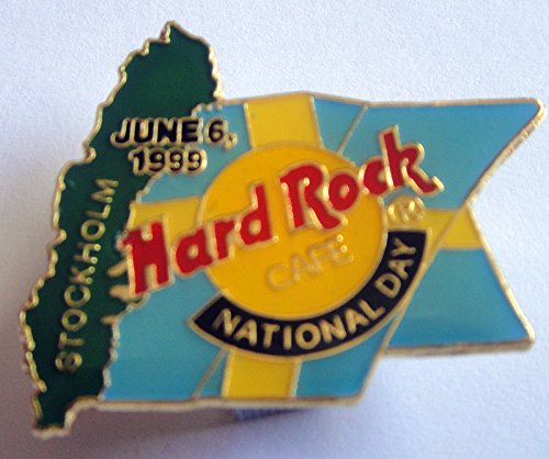 1999 National Day Pin Flag With Green Map Hard Rock Cafe ()