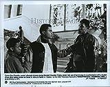 Historic Images - 1988 Press Photo Don Franklin, Teddy Abner & Eriq La Salle in Knightwatch.