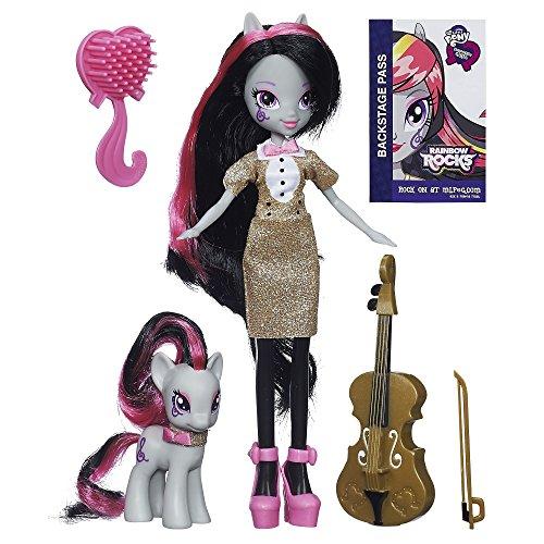 - My Little Pony - A3996 - Equestria Girls Toy - Octavia Melody Deluxe Fashion Doll Pony Set - Rainbow Rocks