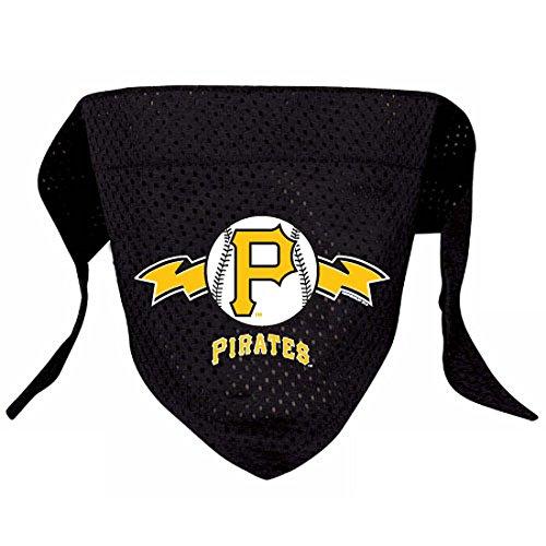 Hunter MFG Pittsburgh Pirates Mesh Dog Bandana, Small