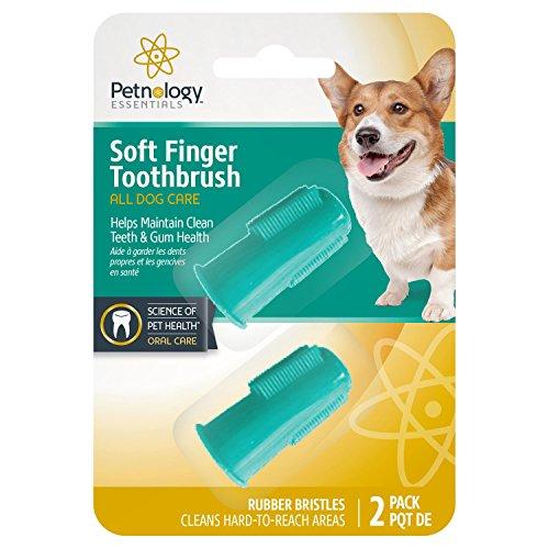 - Petnology Finger Brush for Dogs