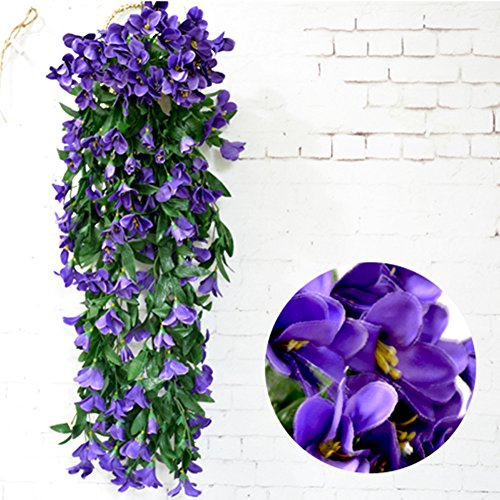 Lily Vine - Colorfulife 2pcs/lot Artificial Lifelike Silk 35