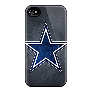 New GAwilliam Super Strong Dallas Cowboys Logo Tpu Case Cover For Iphone 4/4s