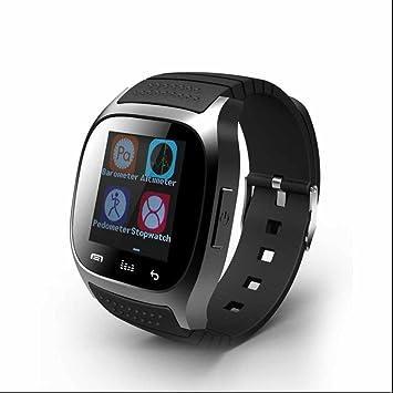 Reloj inteligente con Bluetooth,Monitor de Frecuencia Cardiáco,Smartwatch Diseño único,Recordatorio sedentario