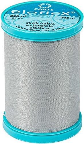 Coats Eloflex Stretch Thread 225yd-nugrey -