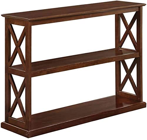 Convenience Concepts Oxford Deluxe 3-Tier Console Table, Espresso