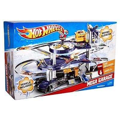 Mattel Hot Wheels Mega Garage Playset V3260: Toys & Games
