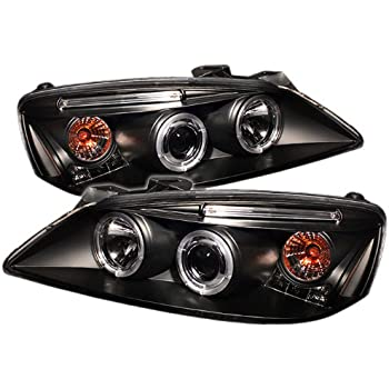 51RaON v6QL._SL500_AC_SS350_ amazon com pontiac g6 2 4dr projector headlights led halo led 2009 pontiac g6 headlight wiring harness at edmiracle.co