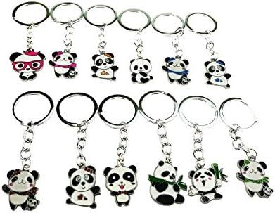 Juego de 12 - Mini Cartoon China tesoro Nacional Panda ...
