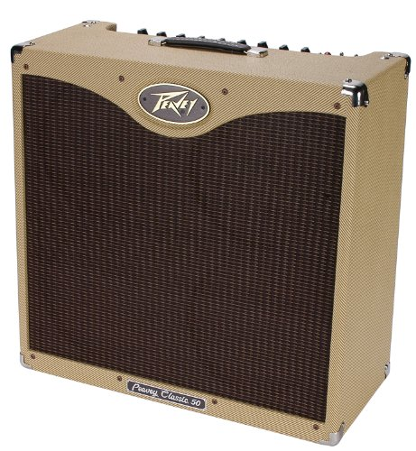 (Peavey Classic 50 410 Electric Guitar Combo 50W Amp & (4) 10in Speakers Amplifier (Renewed) )