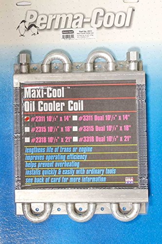 Perma Cool Engine Oil Cooler - Perma Cool 2311 Oil Cooler