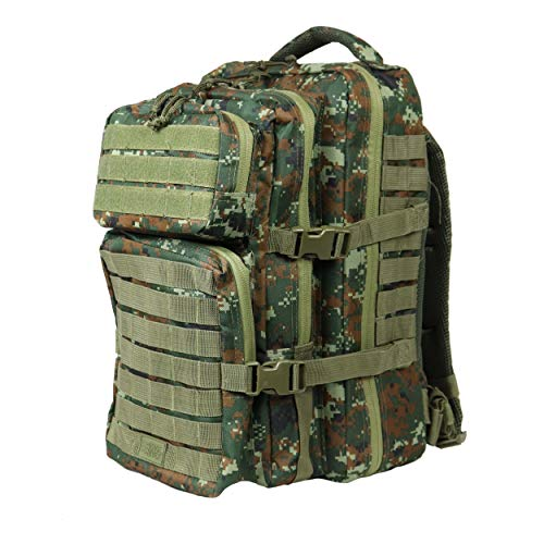 Osage River Fly Fishing Backpack, Tackle and Rod Storage, Camo (Best River Fishing Pole)