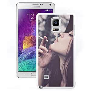 Sexy Girl Smoking (2) Durable High Quality Samsung Note 4 Case