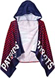 NFL New England Patriots 22″ x 51″ Youth Hooded Beach Towel,22-Inch by 51-Inch,Blue