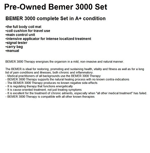 Bemer 3000 Set (PEMF) - (Renewed)