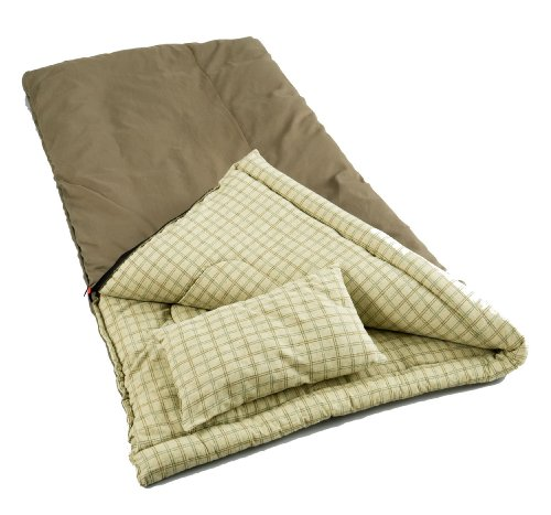 Coleman Big Game Sleeping Bag with Pillow, Outdoor Stuffs
