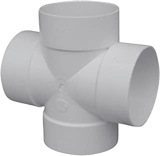 "product image for 4"" Hub PVC Cross"