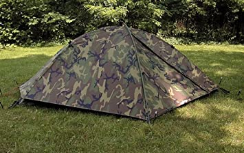 Eureka TCOP Military Issue One man Combat Woodland Camo Tent Double Vestibule with Rainfly ICS 2000 : eureka tents military - memphite.com