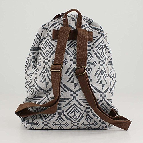 Donna Étnica Multi De Zaini Chica For Mochila Inca Time Bianco Blanco 0qCwfwp7xn