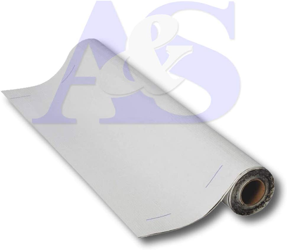 Mfm Building Product 50W36 Mfm Peel & Seal Self Stick Roll Roof Ing (30, 36 in.), White