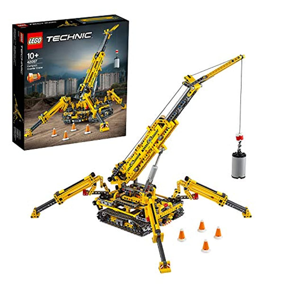 [해외] 레고(LEGO) 테크닉 스파이더 크레인 42097