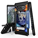 Galaxy Note 8 Case, Trishield Durable Shockproof High Impact Rugged Armor Phone Cover With Detachable Lanyard Loop Card Slot Built In Kickstand For Note 8 - Solar Planet Galaxy