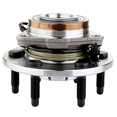 ECCPP New Front Wheel Hub and Bearing Assembly Escalade, Avalanche, Silverado, Suburban, Tahoe 6 Lug W/ABS 4 X 4 Compatible with 515096