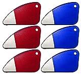 Set of 6 Magnetic Package Opener and Cutting Tools! Safe Ceramic Blade, Finger Friendly Safety Slicer