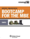 Steve Emanuel's Bootcamp for the MBE: Torts (Emanuel Bar Review Series)