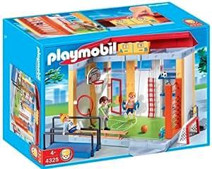 Amazon Com Playmobil 174 School Gym Playset Construction Set