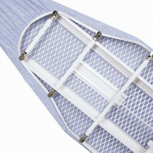 TRIXES x 4 Soportes Sujetadores El/ásticos de Cubierta de Tabla para Planchar