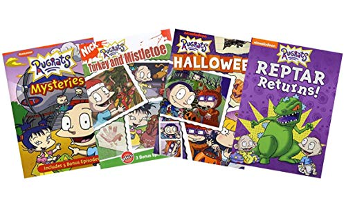 Ultimate Nick Jr. Rugrats 4-Movie DVD Collection: Mysteries / Turkey and Mistletoe / Halloween / Reptar Returns [Nickelodeon Educational Learning]]()